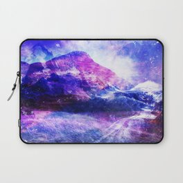Abstract Mountain Landscape Laptop Sleeve