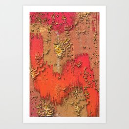 Behind the Walls Art Print