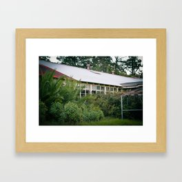 Hospital Windows Framed Art Print