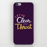 clear iPhone & iPod Skins featuring Clear by Vaughn Fender