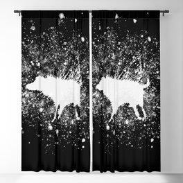 Banksy Dog Splash Paint Artwork Reproduction, Posters, Prints, Bags, Mugs, Postcards, Tshirts, Men, Blackout Curtain