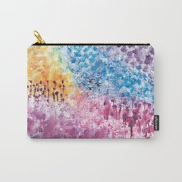 Abstract Landscape Illustration Carry-All Pouch