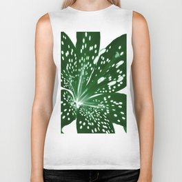 Lily Infrared In Green Biker Tank