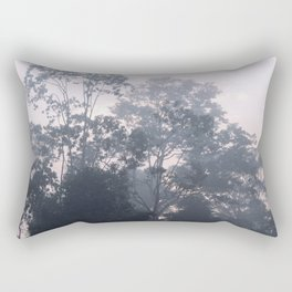 The mysteries of the morning mist Rectangular Pillow