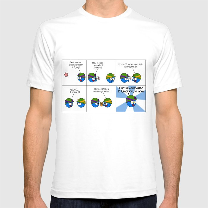 Activated lymphocyte T-shirt
