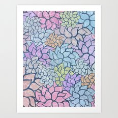 Summer Pattern #5 Art Print