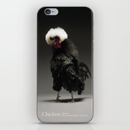 Chic!ken - Black Polish iPhone Skin