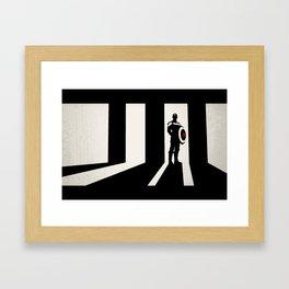 Cap from Winter Soldier Framed Art Print