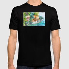 Dream place Mens Fitted Tee Black MEDIUM