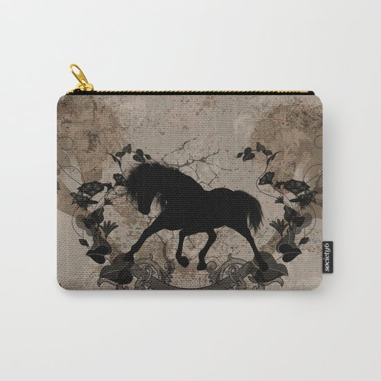 Horse silhouette Carry-All Pouch