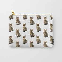 Brown Kitten Carry-All Pouch