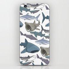 Shark Pattern iPhone & iPod Skin