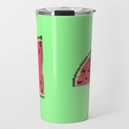 Watermelon Slices Travel Mug