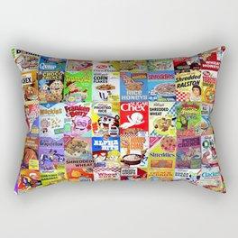Cereal Box Montage Rectangular Pillow