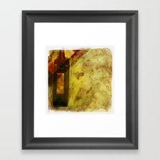 light switched Framed Art Print