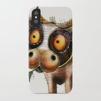 cow iPhone & iPod Cases featuring Cow by Riccardo Pertici
