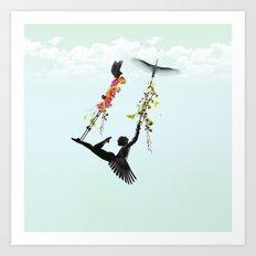 Voladora Art Print