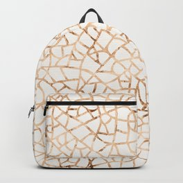Crackle Gold Foil Backpack