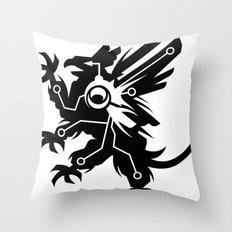 Tech Griffin Throw Pillow