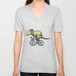 Dino Cycler Unisex V-Neck