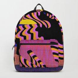 coral warp Backpack