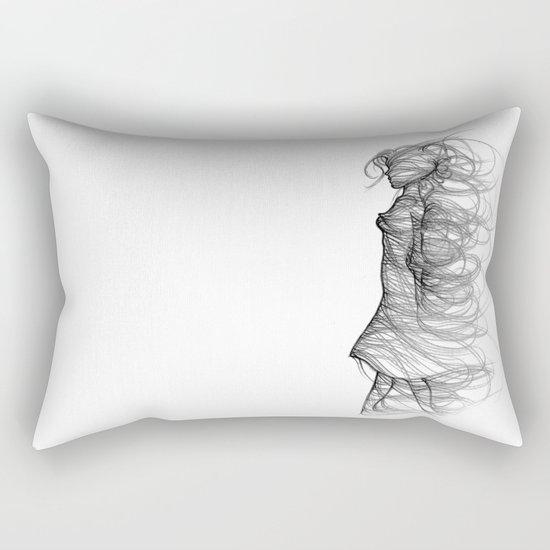 Gentle wind Rectangular Pillow