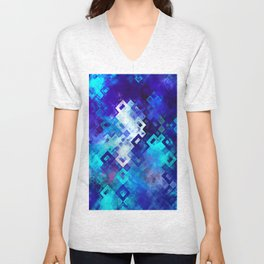 rectangle impressionism Unisex V-Neck