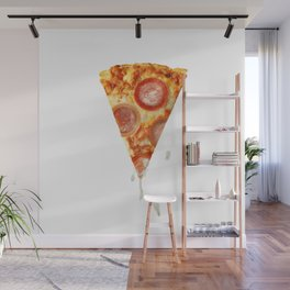 Pizza Porn with condoms Wall Mural
