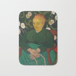 La Berceuse by Vincent van Gogh, 1889 Bath Mat