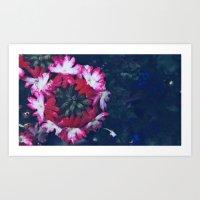Pink Verbena Art Print