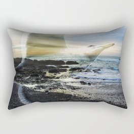 Sea Bird Rectangular Pillow