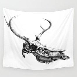Deer Skull Wall Tapestry