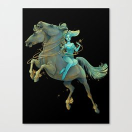 Gemini Maiden Canvas Print