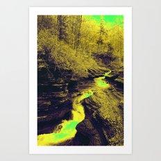 Buttermilk Art Print