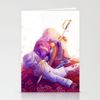 utena Stationery Cards featuring The Rose Bride by Yoccu
