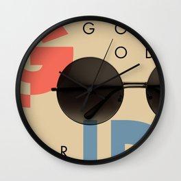 LOOKING GOOD OR COOL Wall Clock