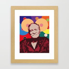 Rest in Boobs - Hugh Hefner Framed Art Print