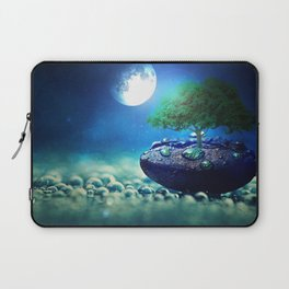 Moonlight in small things Laptop Sleeve