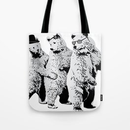 Funky Bears Tote Bag