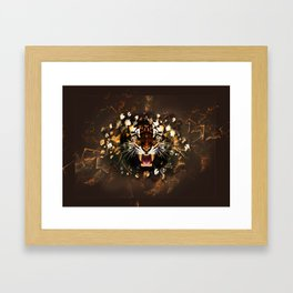 Harimau Framed Art Print