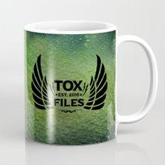 Tox Files - Black on Green Mug