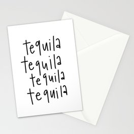Tequila! Stationery Cards