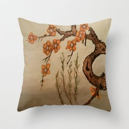 Soothing Evening Throw Pillow