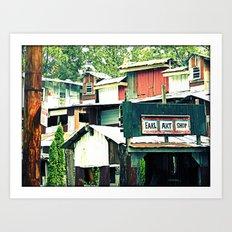 art shack Art Print