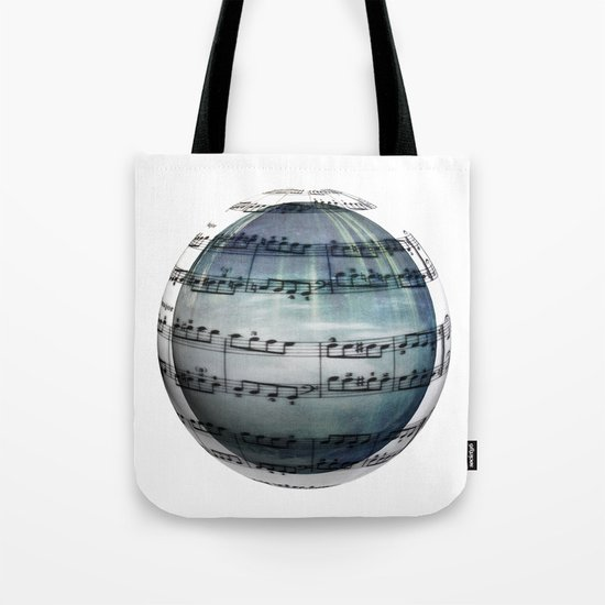 Music is My World Tote Bag