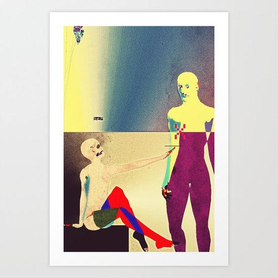 Christ Reveals Himself to Magdalene Art Print