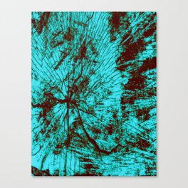 Shattering Canvas Print