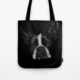 Boston Terrier Tote Bag