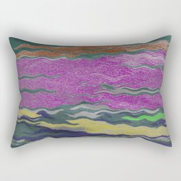 Rippled Rectangular Pillow