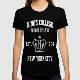 HAMILTON BROADWAY MUSICAL King's College School of Law Est T-shirt